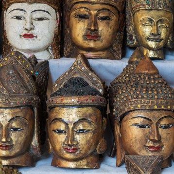 48. Buddha souvenirs all in a row